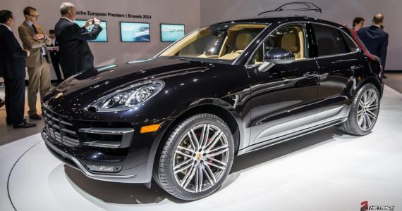 Porsche Macan Turbo European Premiere Brussel Motor Show 2014-1