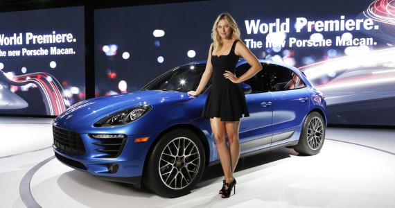 Porsche Macan premiere Los Angeles