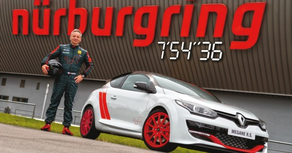 Renault-Megane-RS-275-Trophy-R-Nurburgring record run