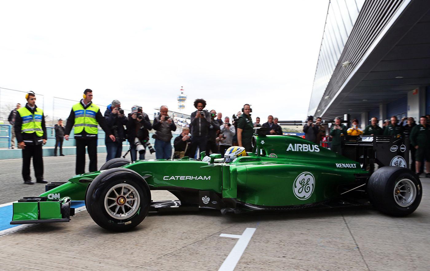 Caterham F1 gekocht door consortium