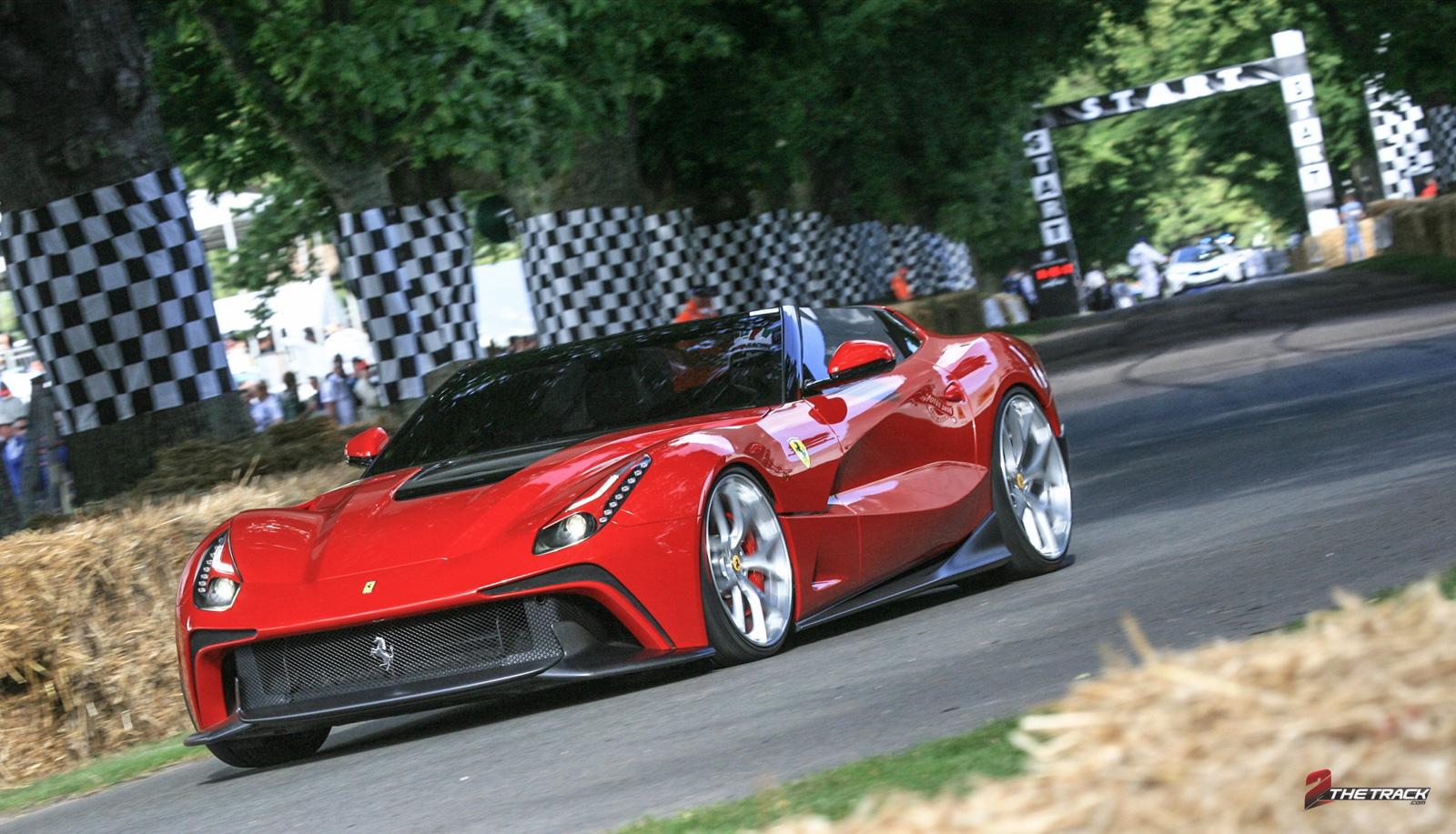 Ferrari op het Goodwood FoS