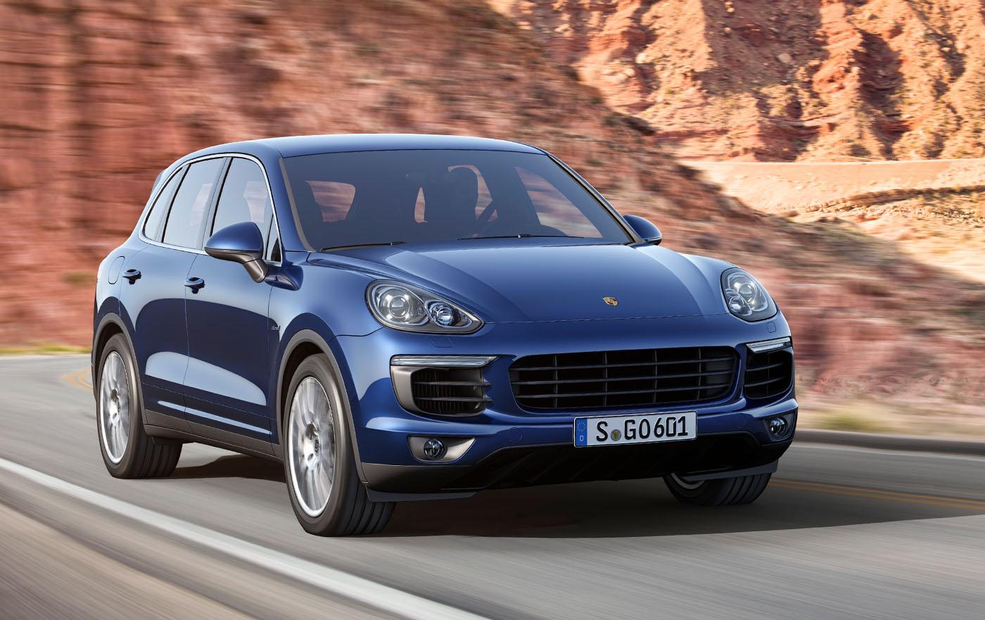 Details van nieuwe Porsche Cayenne