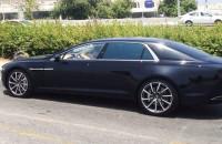 Aston Martin Lagonda 2015 spyshot