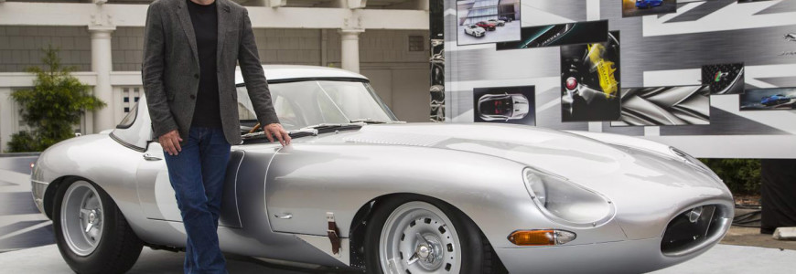Jaguar E-Type Lightweight Pebble Beach