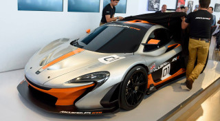 McLaren P1 GTR Pebble Beach reveal