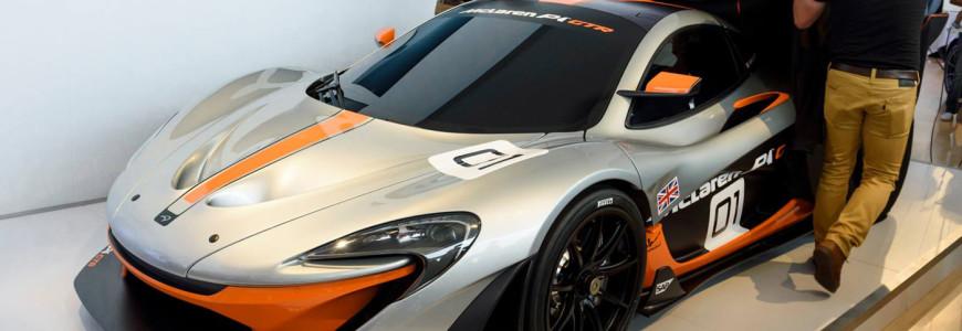 McLaren P1 GTR Pebble Beach reveal