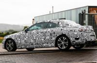Mercedes-Benz C-class convertible spyshot 2015