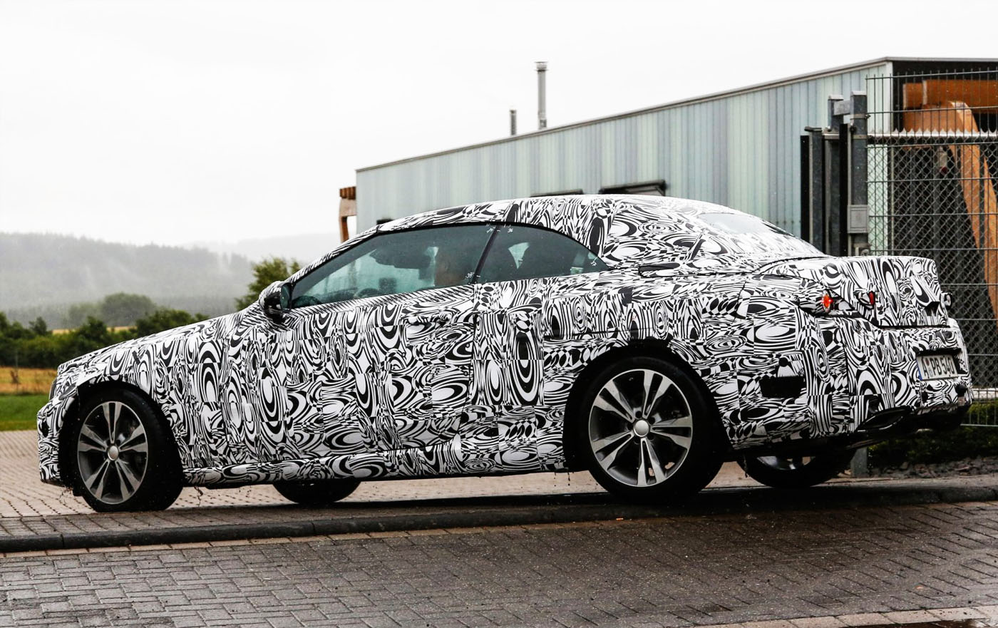 Mercedes-Benz test C-klasse Cabrio