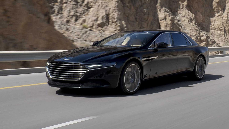 Officiële foto's Aston Martin's Lagonda