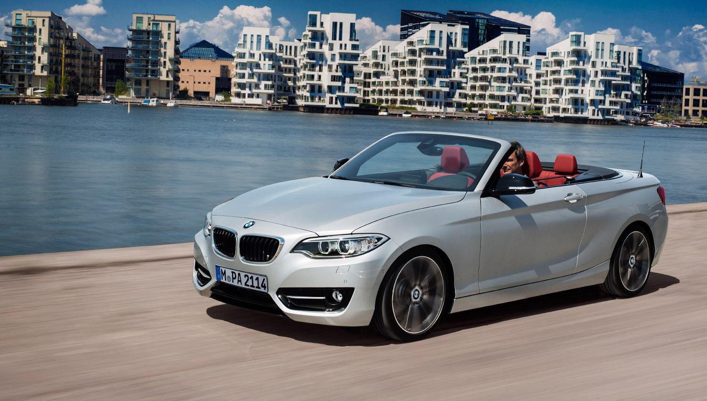 Nazomer debuut voor BMW 2-serie Cabrio