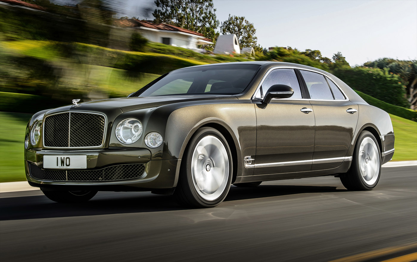 Bentley komt met sportieve Mulsanne Speed