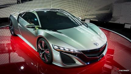 De Honda NSX Concept op de Autosalon Geneve 2012.