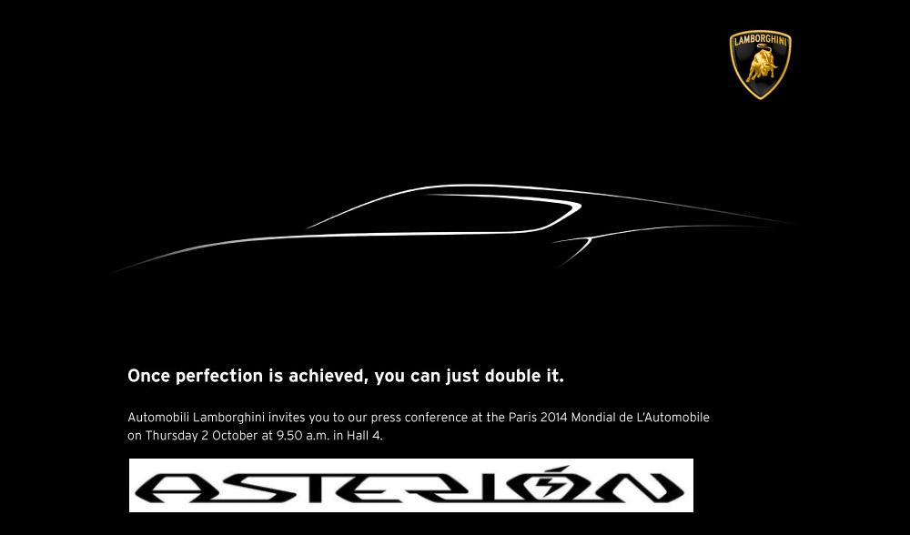 Lamborghini kondigt Asterión aan