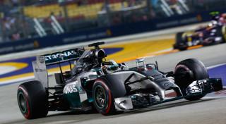 Lewis Hamilton Singapore Grand Prix 2014 Mercedes AMG F1