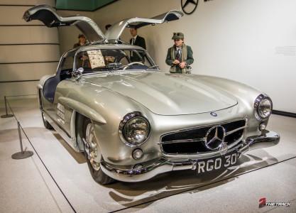 "De klassieke Mercedes-benz 300 SL ""Gullwing""."