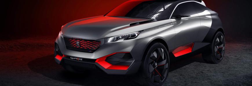 Peugeot Quartz Concept Paris Motor Show 2014 Mondial de l automobile