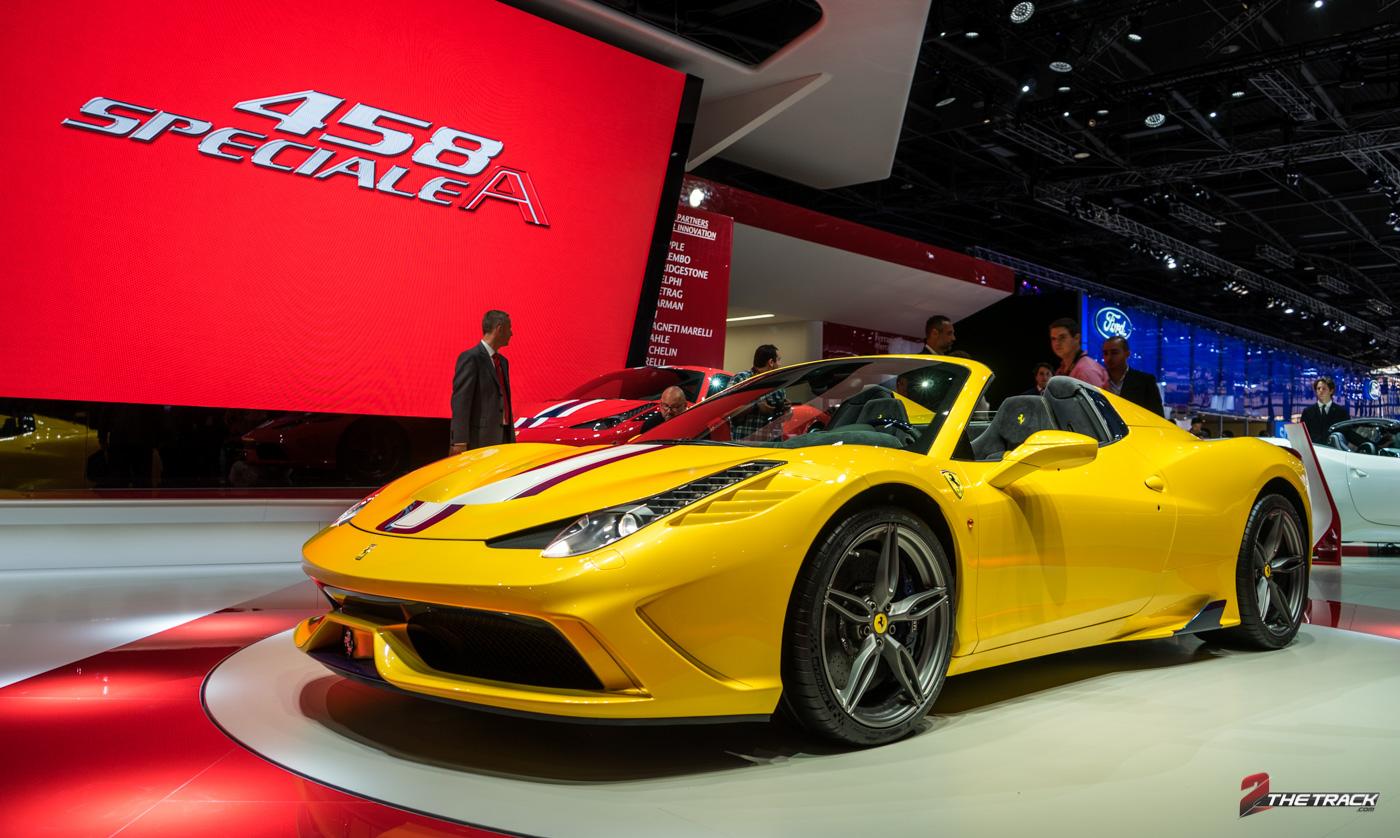 Onthulling Ferrari 458 Speciale A