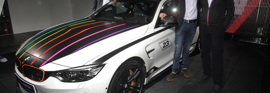 BMW M4 DTM Champion Edition 2014 Marco Wittman M event