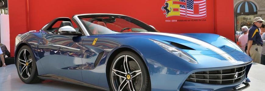 Ferrari f60america reveal 2014