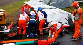 Formula 1 Jules Bianchi Marussia accident Suzuka 2014 Grand Prix Japan