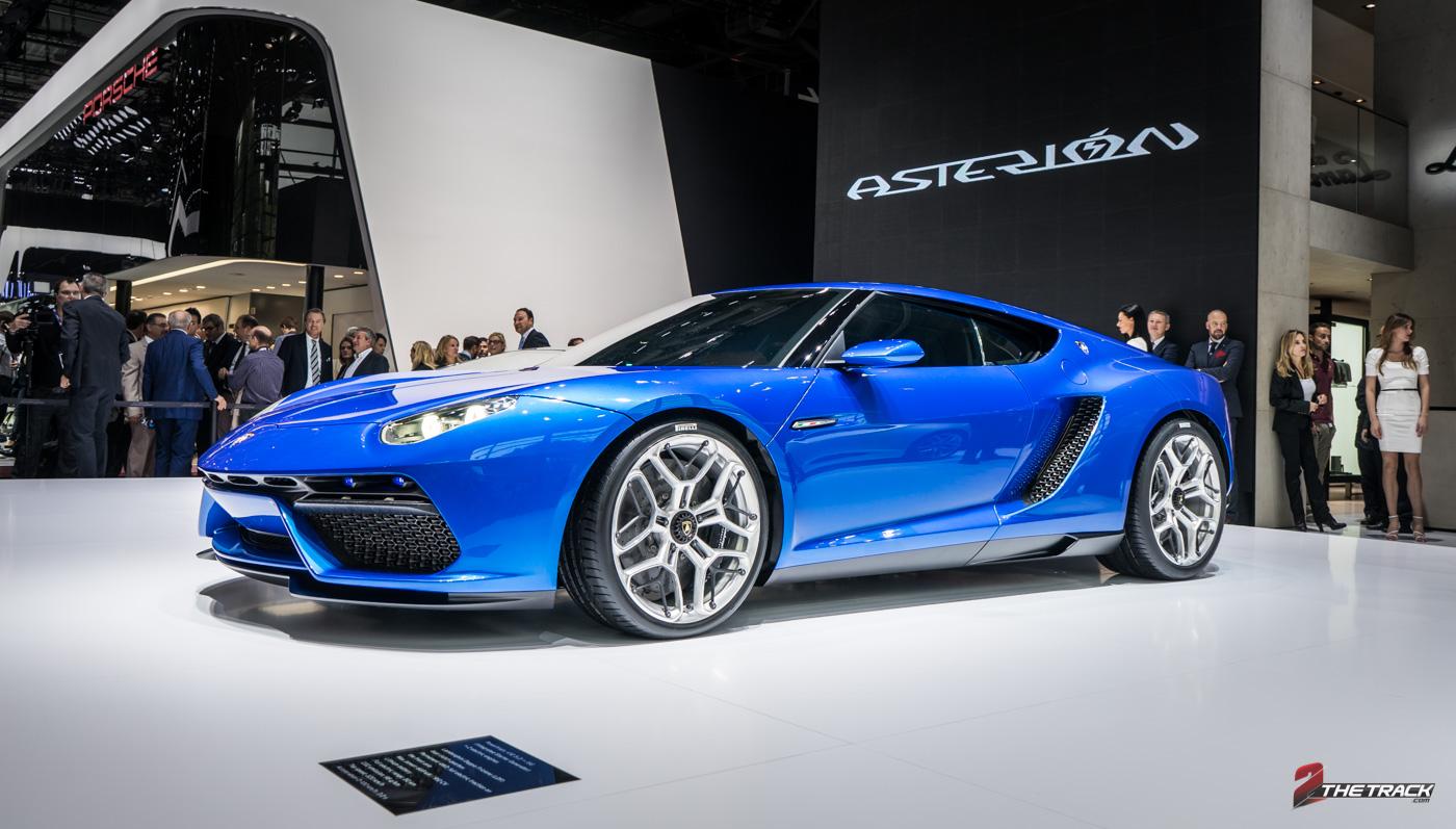 Lamborghini Asterión concept is hybride