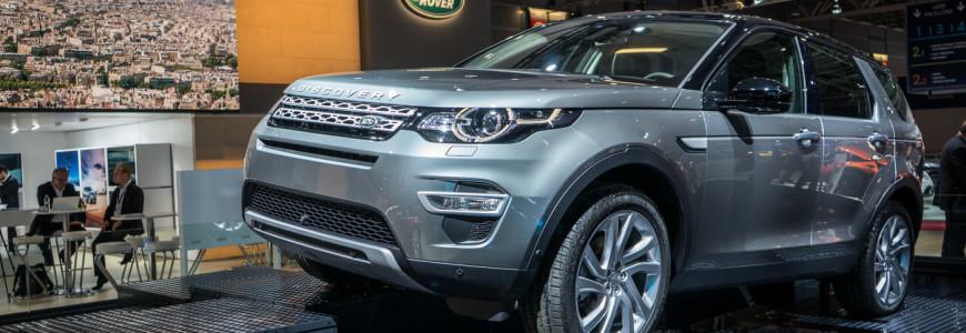Land Rover Discovery Sport Paris Motor Show 2014-1