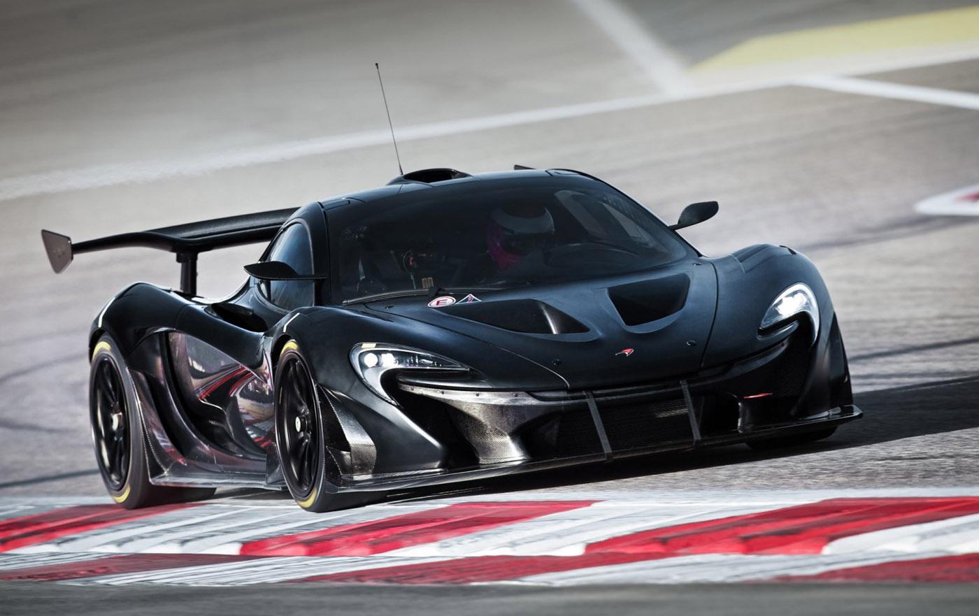 McLaren geeft foto's en info P1 GTR vrij