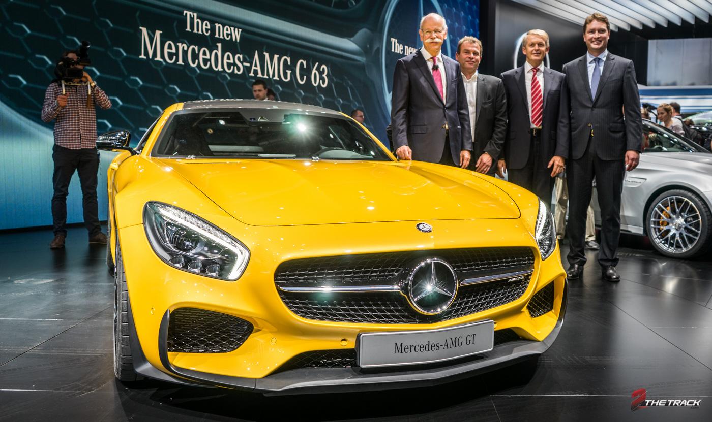 Publieksdebuut AMG GT in Parijs