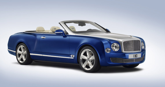 Bentley Grand Convertible Mulsanne cabrio 2015 Los Angeles Motor Show 2014