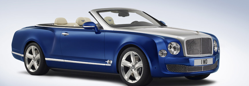 Bentley Grand Convertible Mulsanne cabrio 2015 Los Angeles Motor Show 2014