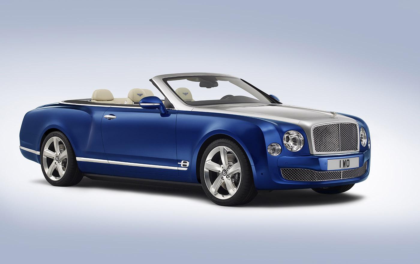 Bentley verrast met Grand Convertible