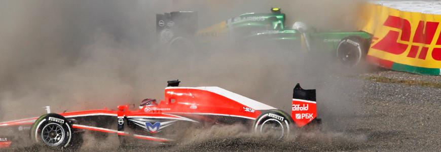 Marussia en Caterham failliet