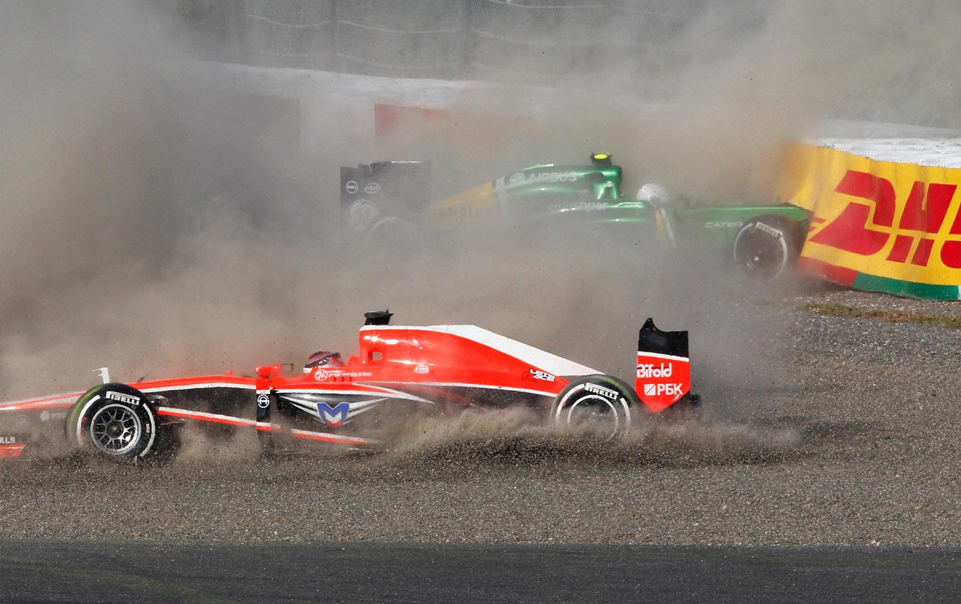 Marussia en Caterham in problemen