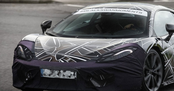 McLaren Sports Series P13 spyshot