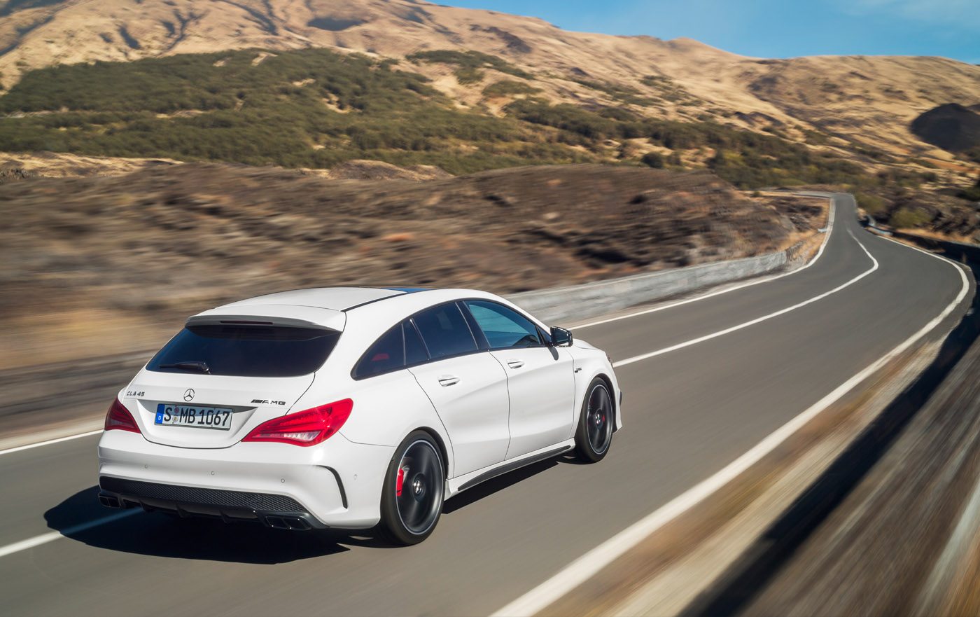 Mercedes-Benz CLA ook als Shooting Brake