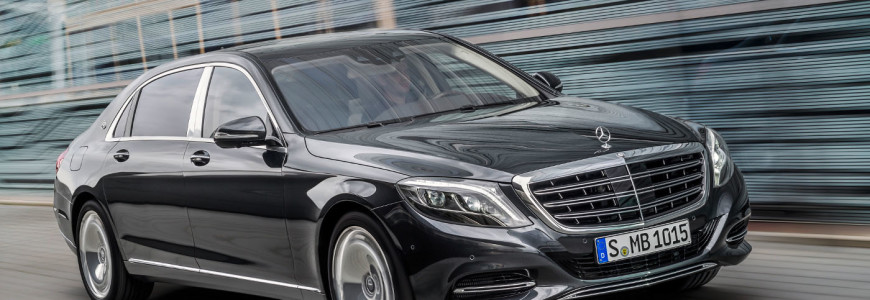 Mercedes-Maybach S600 2014 Los Angeles Motor Show