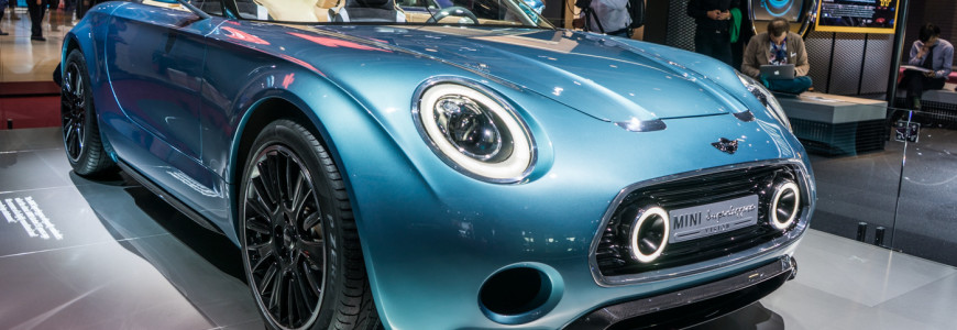 Mini Superleggera Vision eyecatcher in Parijs - 2TheTrack - De plek voor Petrolheads