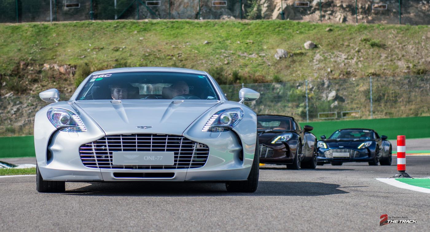 Aston Martin on Track