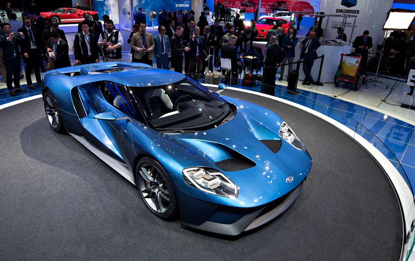 Nieuwe Ford GT in Detroit gepresenteerd