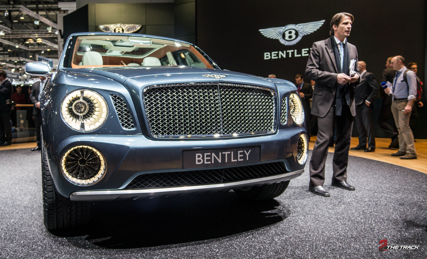 Bentley Bentayga SUV komt in 2016