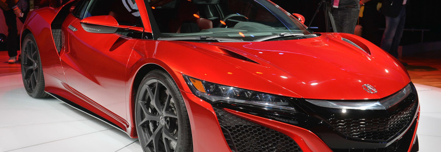 Honda NSX 2015 production NAIAS Detroit Motor Show 2015