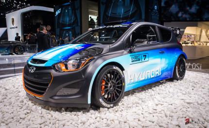 Hyundai kondigde op de 2013 Autosalon Genève het WRC avontuur aan.