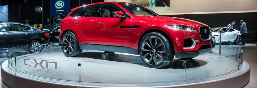 Jaguar C-X17 Concept Brussel Autosalon 2014 F-Pace-1