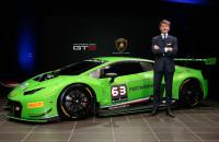 Lamborghini Huracan GT3 launch