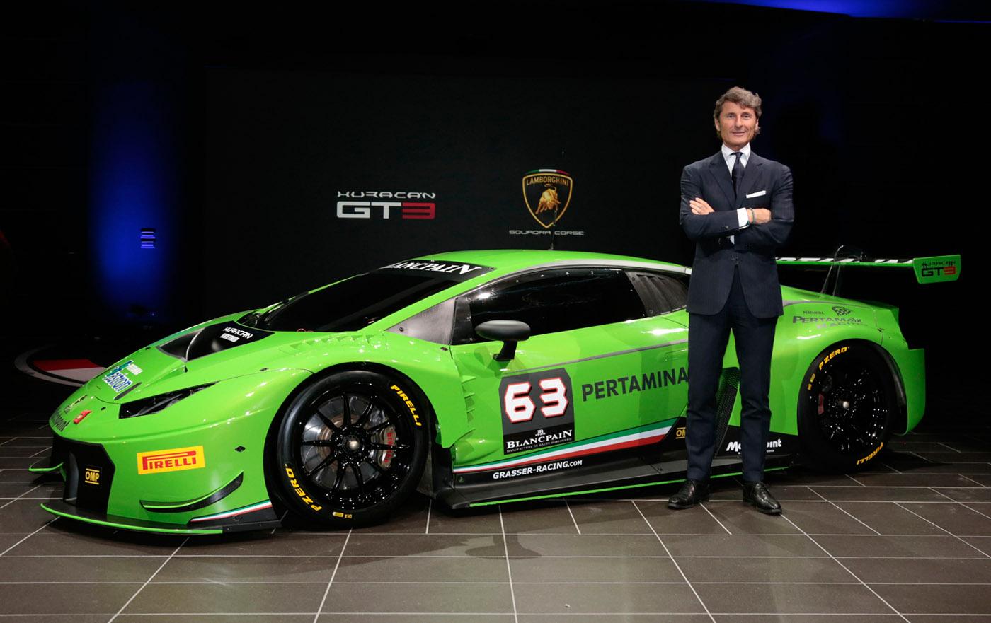 Lamborghini Huracán GT3 klaar voor het circuit