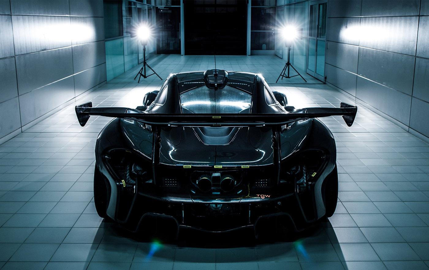 Details McLaren P1 GTR, onthulling in Genève