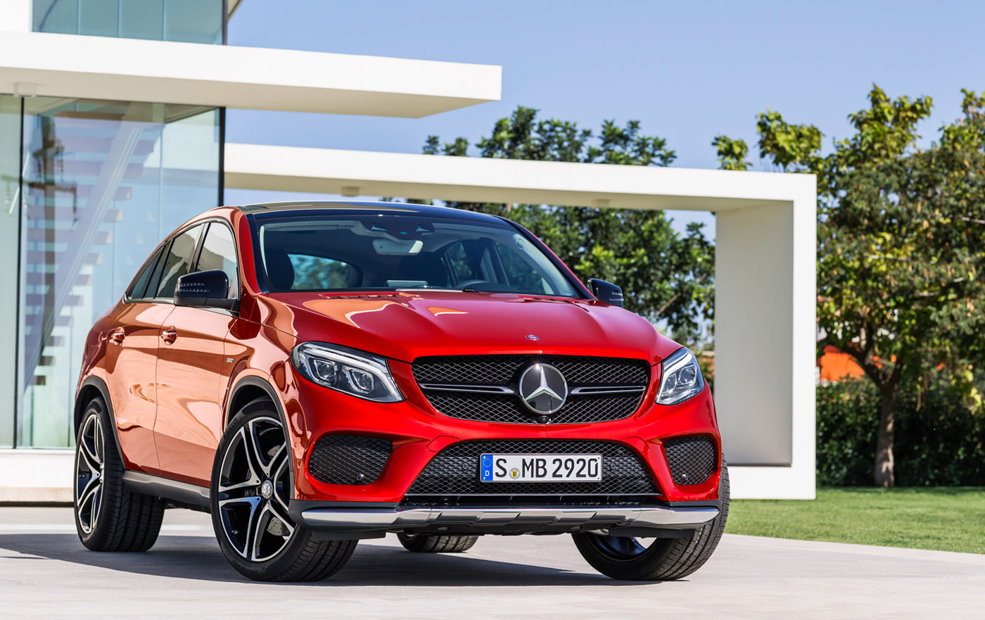 Mercedes-Benz GLE is SUV Coupé