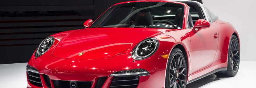 Porsche 911 Targa 4 GTS NAIAS Detroit Motor Show 2015