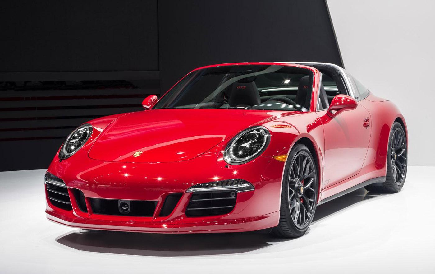 Porsche steekt Targa in GTS jas