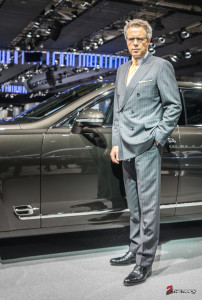 Wolfgang Durheimer Paris Motor Show 2014 Mondial de l automobile Bentley Mulsanne Speed-1